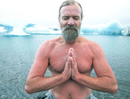 Wim Hoff Ice Bath Challenge